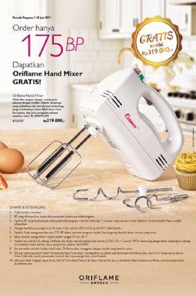 GRATIS Hand Blender Oriflame