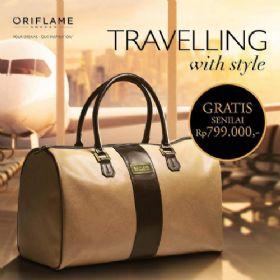 Promo Member Oriflame Gratis Travelling Bag